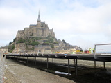 Les travaux du Mont Saint-Michel avancent