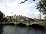 O'Connell bridge in Dublin