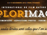 18e édition de Explorimages, le Festival International du Film Nature & Aventure, du 8 au 11 nov 2013 à Nice