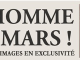 Flash info !! un homme sur mars ! les premieres images en exclusivite