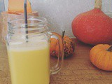 Smoothie gingembre, mangue et vanille