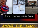 Carte postale de Londres : from London with love