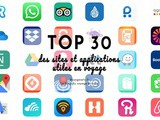 Top 30 des sites et applications utiles en voyage
