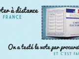 Voter par procuration en France: facile
